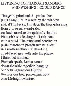 Homepage poem